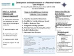 Development and Implementation of a Pediatric Palliative Care Program