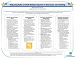 Reducing Falls and Fall-Related Injuries in the Acute Care Setting
