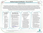 Medical-Surgical Certification - You can do it!