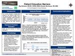 Patient Education Barriers