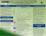 Reduction of Cesarean Section Surgical Site Infections (SSI): Progression and Implementation of Evidence Based Practice