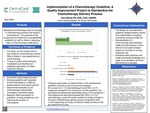 Implementation of a Chemotherapy Guideline: A Quality Improvement Project to Standardize the Chemotherapy Delivery Process